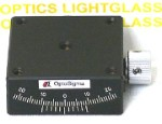 OptoSigma 123-2720 Single Axis 40mm Goniometer