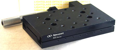 Newport 435 Precision Linear Stage