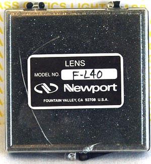 Newport F L40 Laser Diode Objective Lens