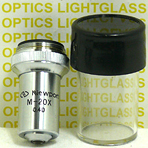 Newport M-20 Microscope Objective Lens