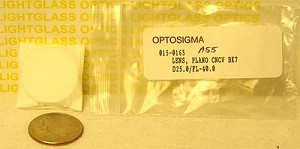 OptoSigma 015-0165-A55 Anti-Reflection Coated Plano Concave BK-7 Lenses