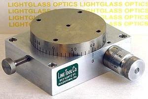 Line Tool Co. Model 109 Compact Rotary Stage