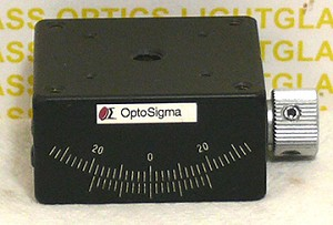 OptoSigma 123-2715 Single Axis 40mm Goniometer-Metric
