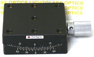 OptoSigma 123-2820 Single Axis 65mm Goniometer