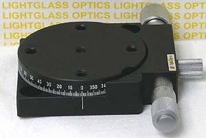 OptoSigma 124-0055 Metric  65mm Rotation Stage