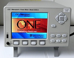 Newport 2935-C Dual-Channel Optical Power Meter