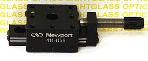 Newport 411-05S Miniature Linear Translation Stage