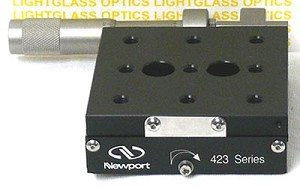 Newport 423 High-Performance, Low Profile Linear Stage