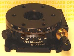 Newport 481-A-S Precision Rotation Stage w/ AJS actuator