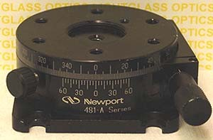 Newport 481-A Precision Rotation Stage