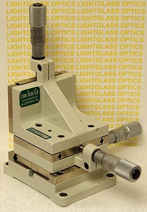Line Tool Co. A-LH 3-Axis Linear Translation Stage