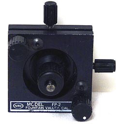 Newport M-FP-2 5-Axis Fiber Optic Positioner- Metric