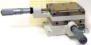 Line Tool Co. I-RH 2-Axis Linear Translation Stage