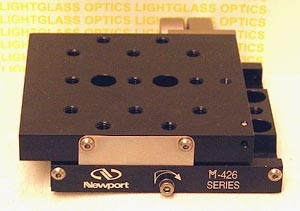 Newport M-426 High Performance Low-Profile Linear Stage-Metric
