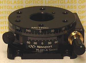 Newport M-481-A-S Metric Precision Rotation Stage