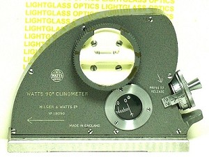 TB103 Hilger Watts 90-degree Clinometer