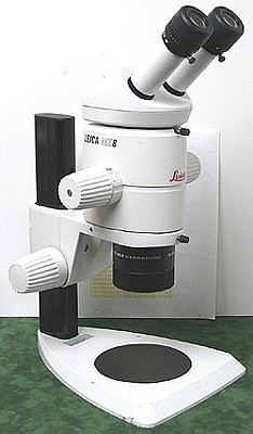 Leica MZ8 Stereomicroscope on Leica Table Stand