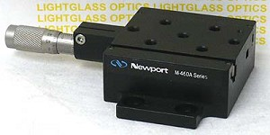 Newport M-460A-X High-Performance Integrated Ball-Bearing Linear Stage