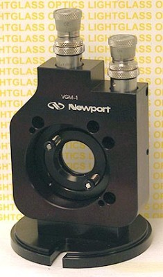 Newport VGM-1BD Vertical Gimbal Mount with Differential Micrometers